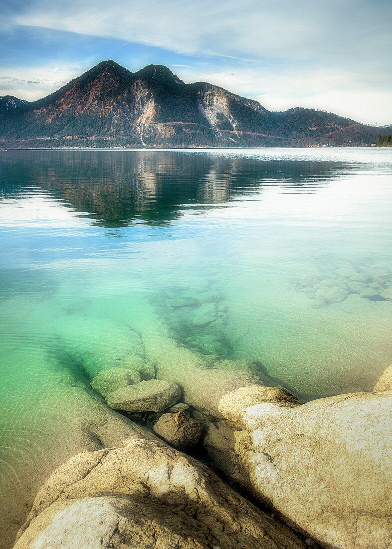 Walchensee, Urfeld, Bavaria, Germany