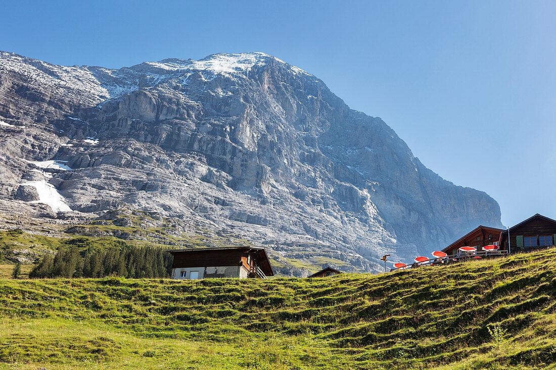 Mountain landscape near Grindelwald, Bernese Oberland, Switzerland