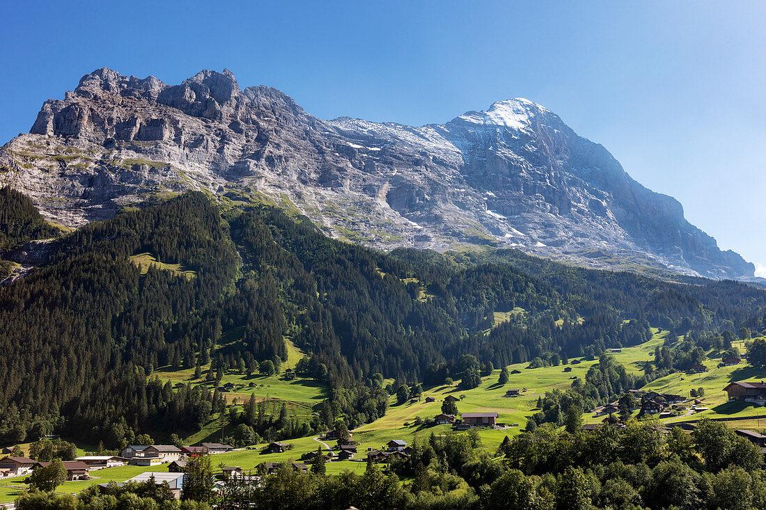 Schreckhorn near Grindelwald, Bernese Oberland, Switzerland