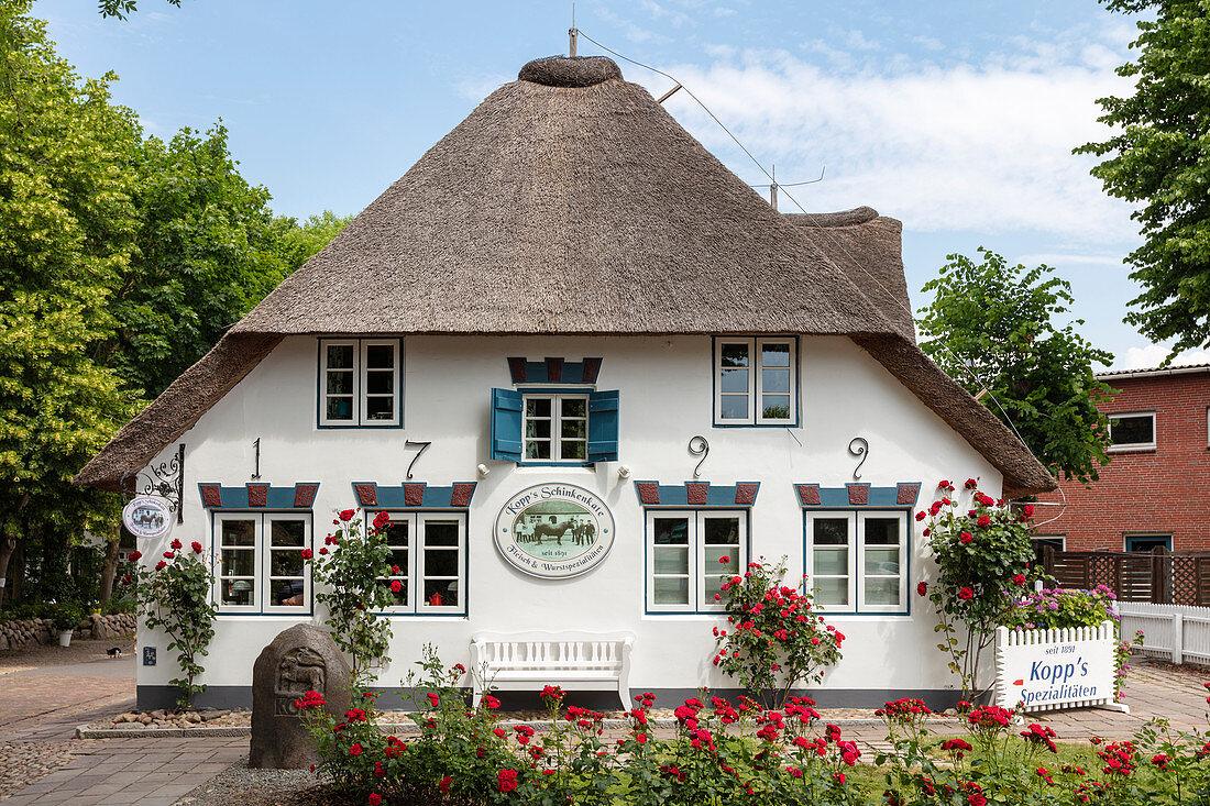 Koops Schinkenkate, Nieblum, Föhr, Scheswig-Holstein, Germany