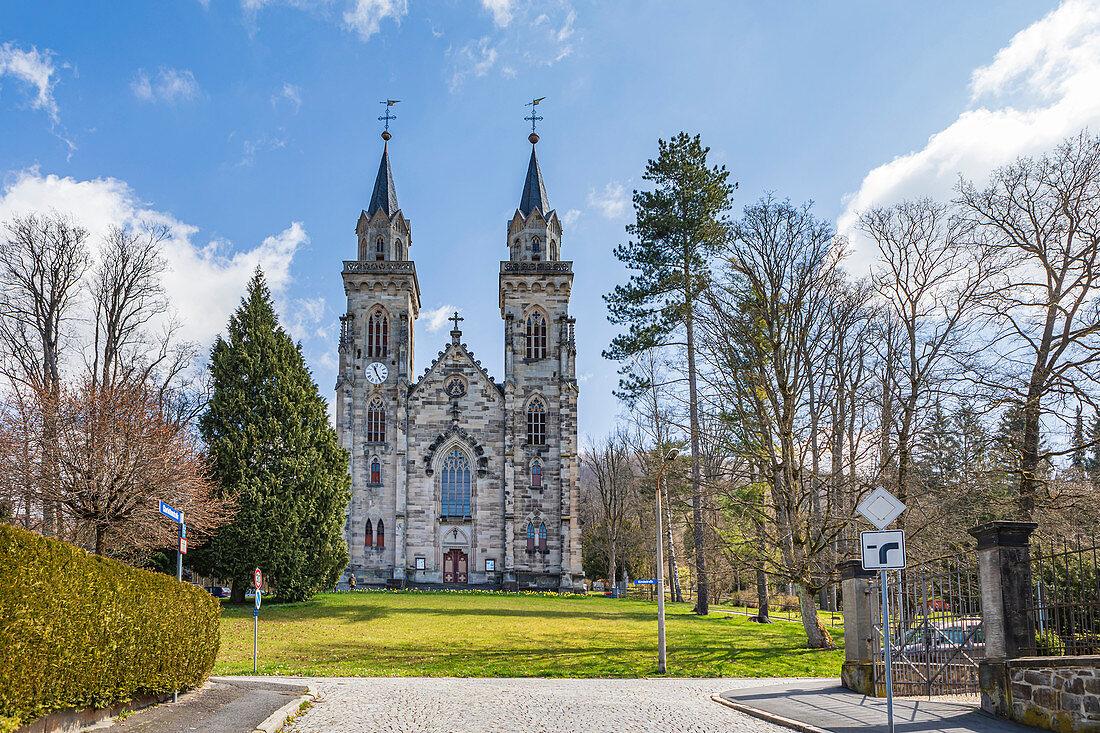 Stadtkirche St. Peter in Sonneberg, Thüringen, Deutschland