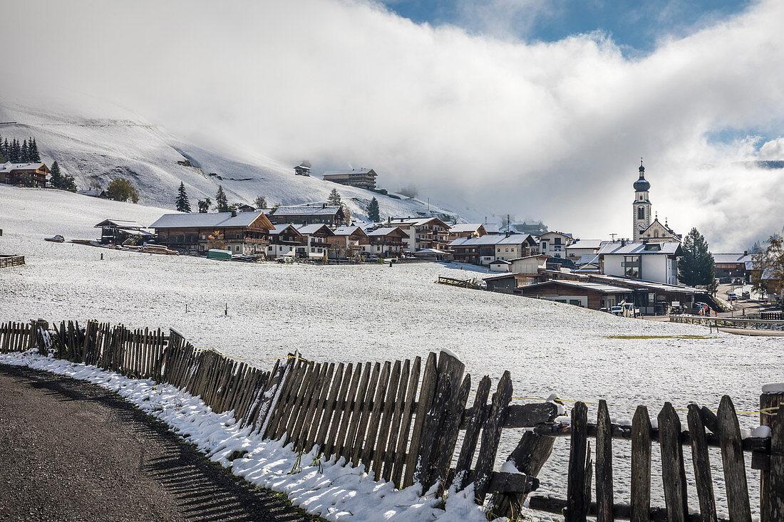 View of Innervillgraten, Villgratental, East Tyrol, Tyrol, Austria