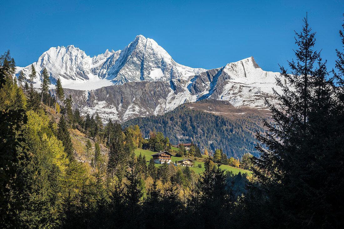 Kalser Tal im Nationalpark Hohe Tauern, Kals am Großglockner, Osttirol, Tirol, Österreich