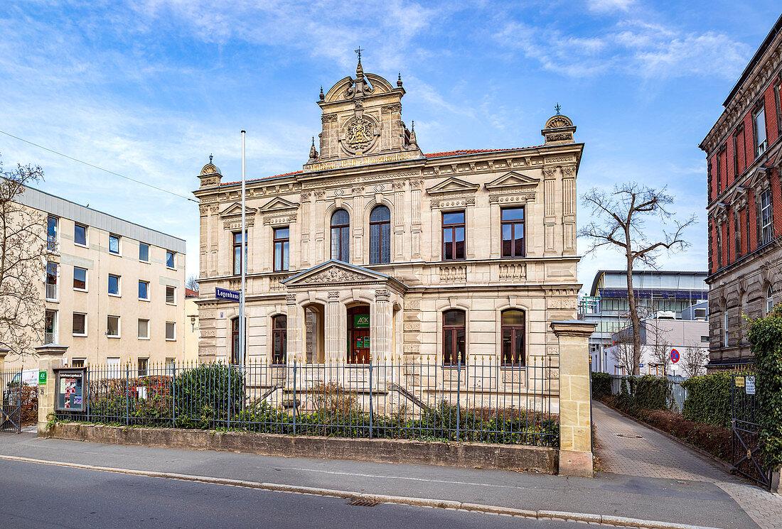 Kulturforum Logenhaus in Erlangen, Middle Franconia, Bavaria, Germany