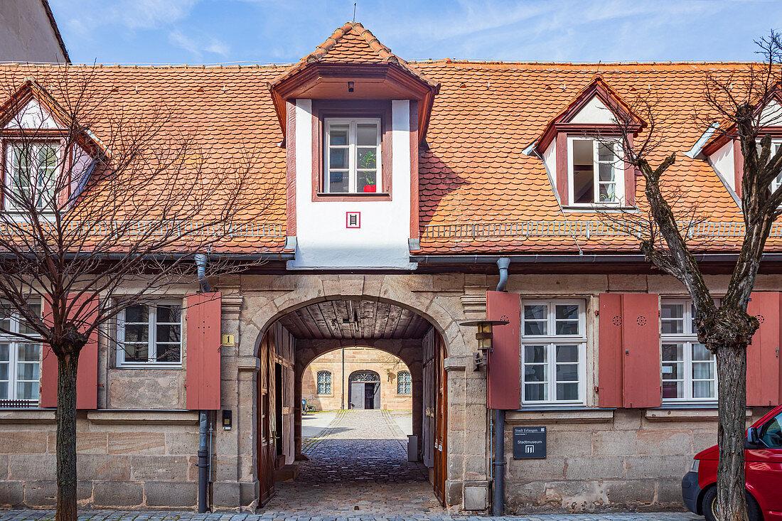 Stadtmuseum Erlangen, Mittelfranken, Bayern, Deutschland
