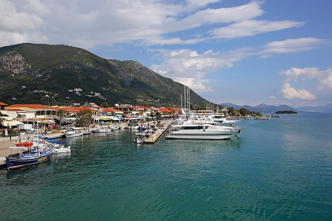 Harbor, Nydri, Lefkada Island, Ionian Islands, Greece