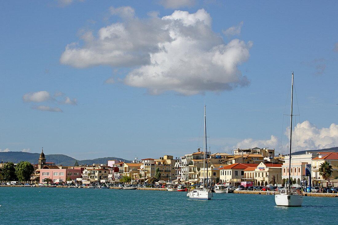 Hafen von Zakynthos Stadt, Insel Zakynthos, Ionische Inseln, Griechenland