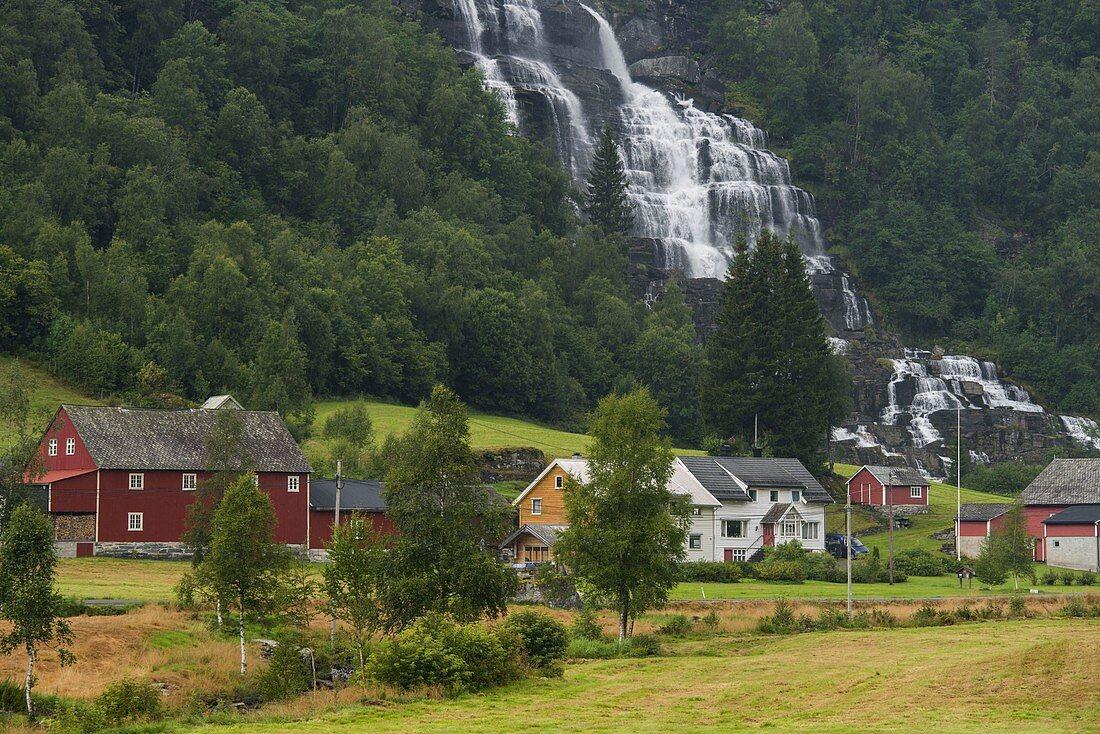 Tvindevossen, farm, Vestland, Norway