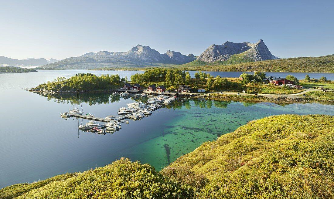Kulhornet, Stortinden, Eidtinden, Hakonset, Ballangen, Ofoten, Nordland, Norway