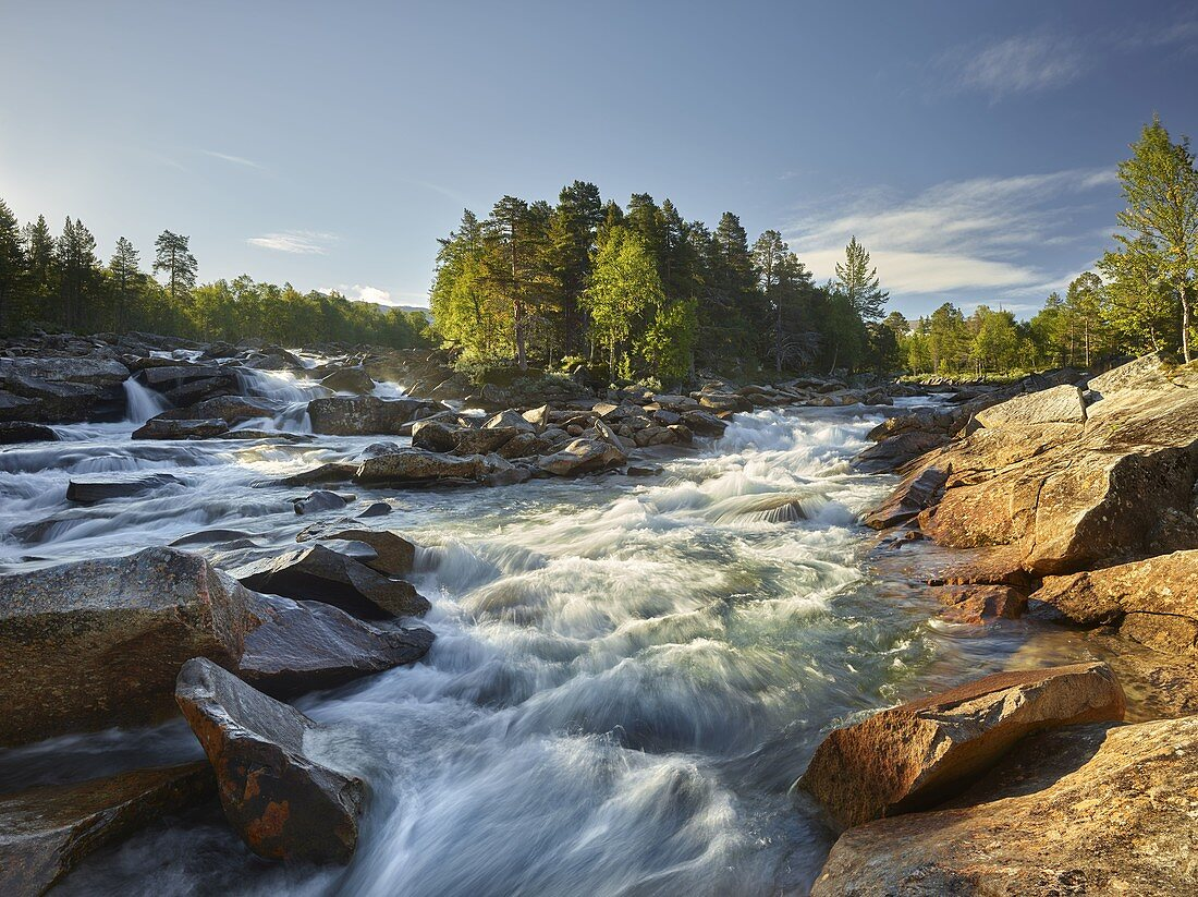 Saltelva River, Saltfjellet-Svartisen, Nordland, Norway