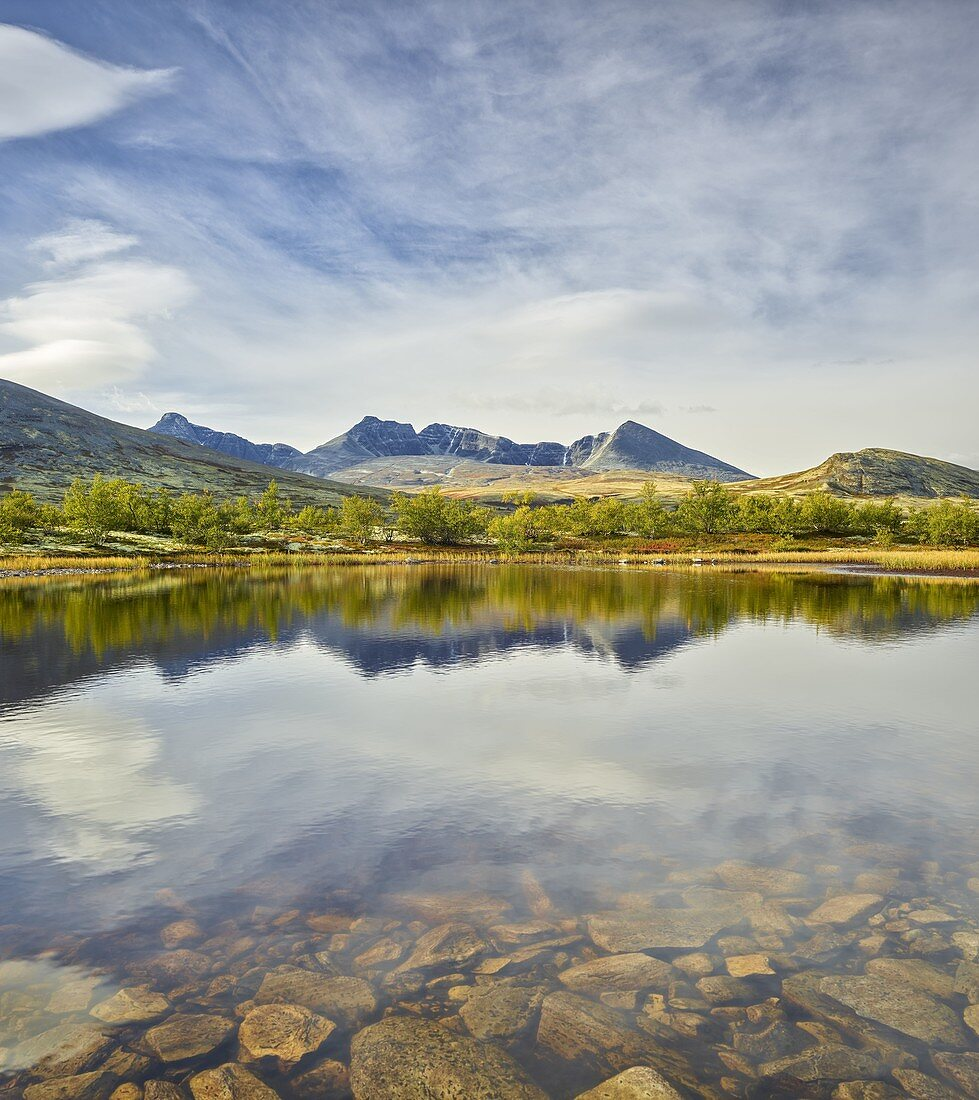 Högronden massif, Döralen, Rondane National Park, Oppland, Norway