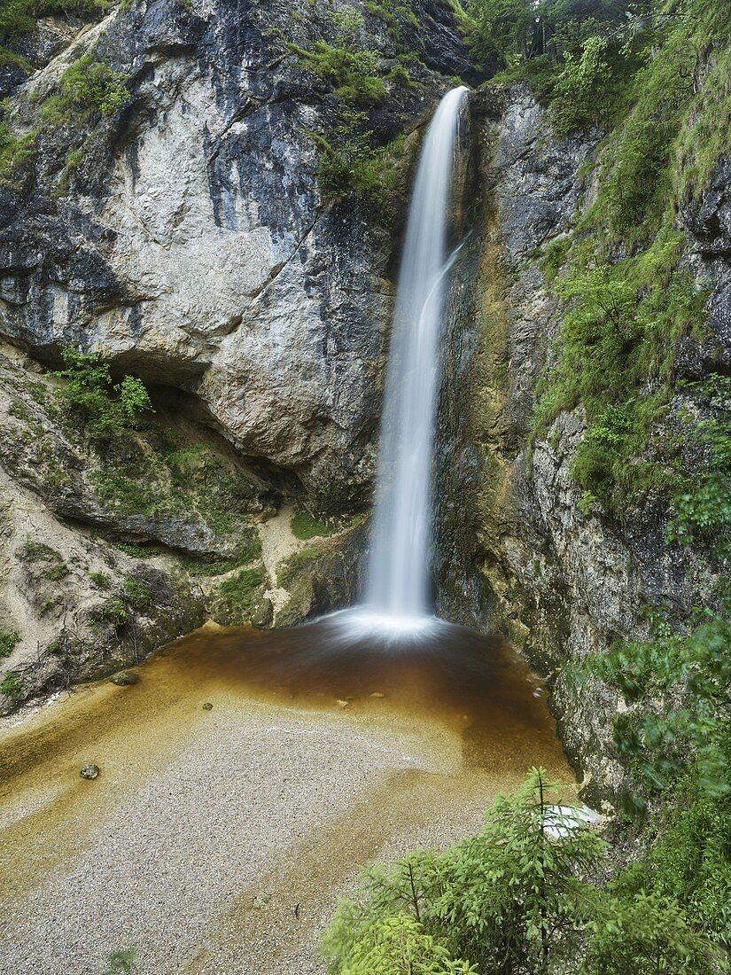 Plötz waterfall, Salzburg, Austria