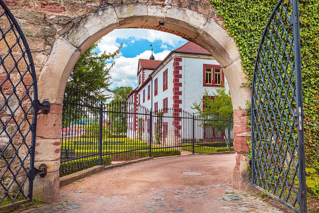 Wilhelmsburg Castle in Schmalkalden, Thuringia, Germany