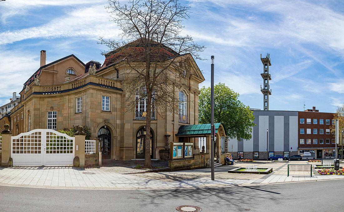 Kurtheater in Bad Kissingen, Bavaria, Germany