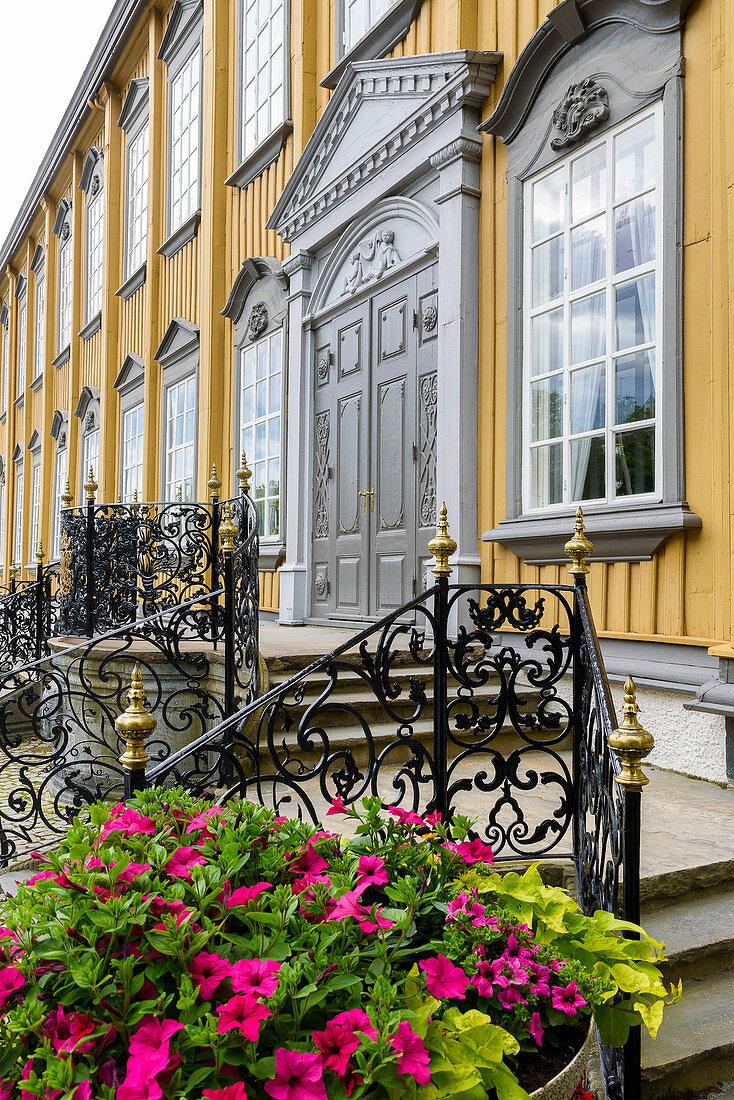 Stiftsgarden wooden palace, Trondheim, Norway