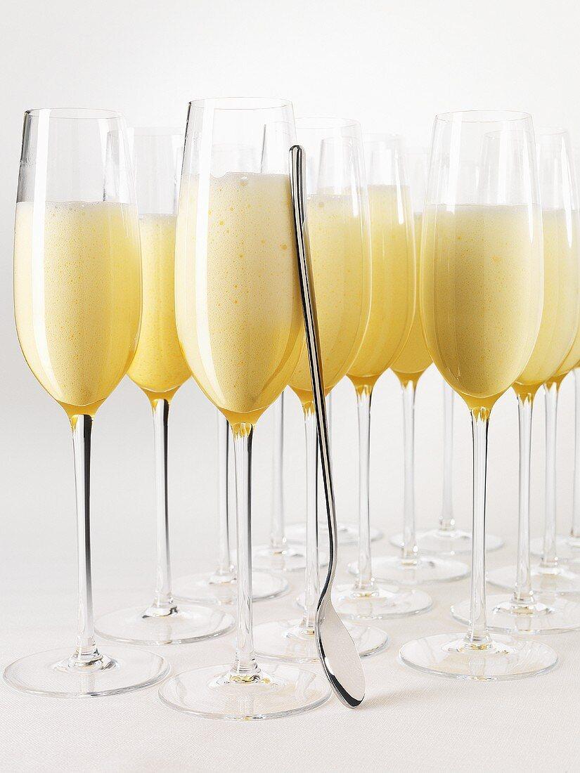 Champagne sabayon