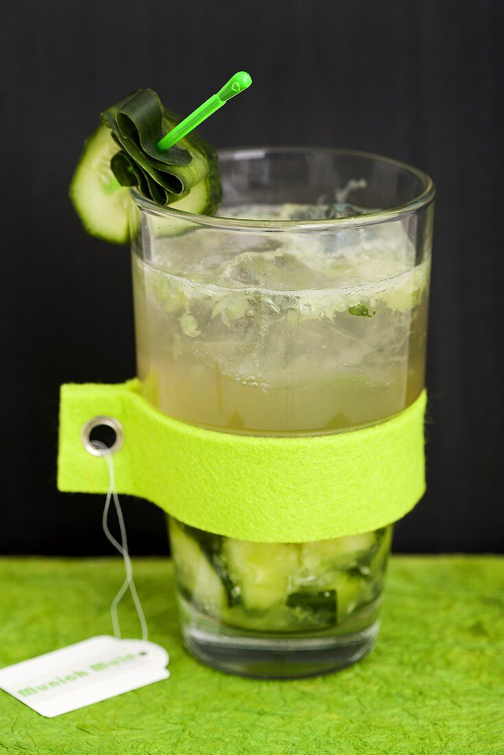 Munich Mule (Cocktail with vodka and ginger ale)
