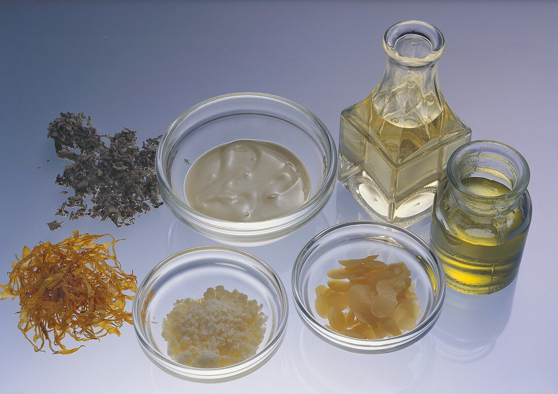 Ingredients for Facial Cream