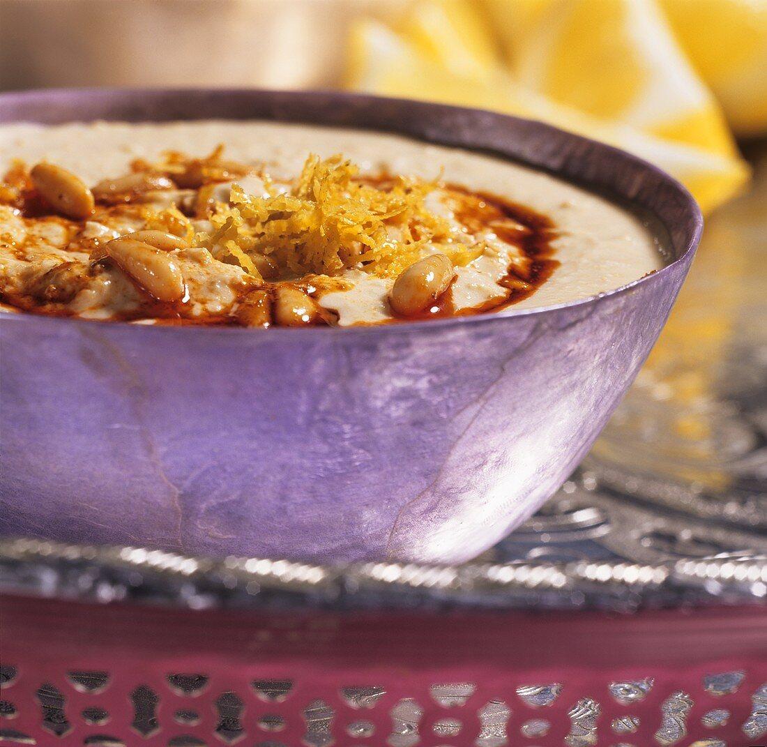 Hummus (chick-pea puree)