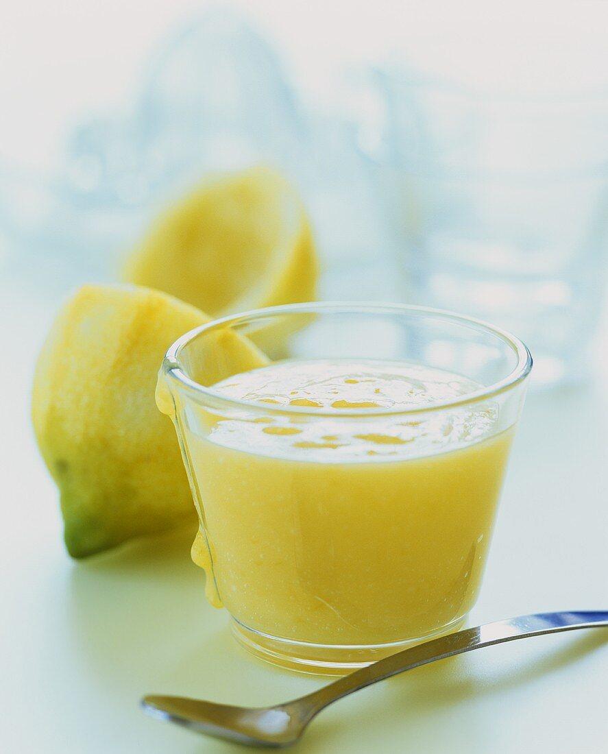 Lemon curd (England)
