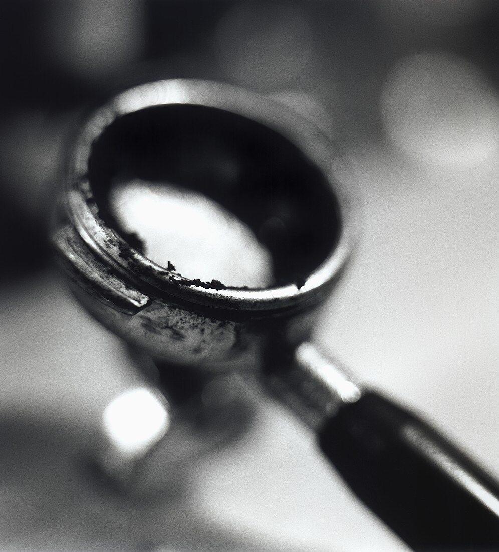 Filter holder of an espresso machine