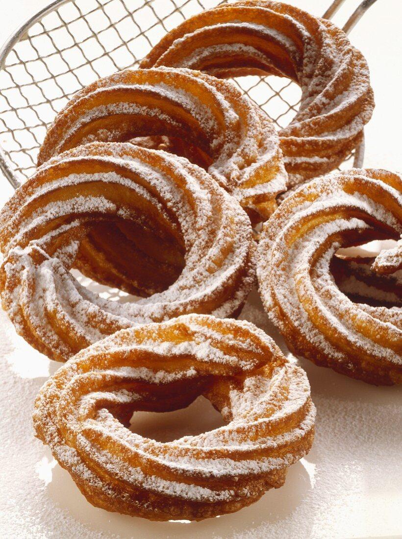 Sweet Twisted Doughnuts
