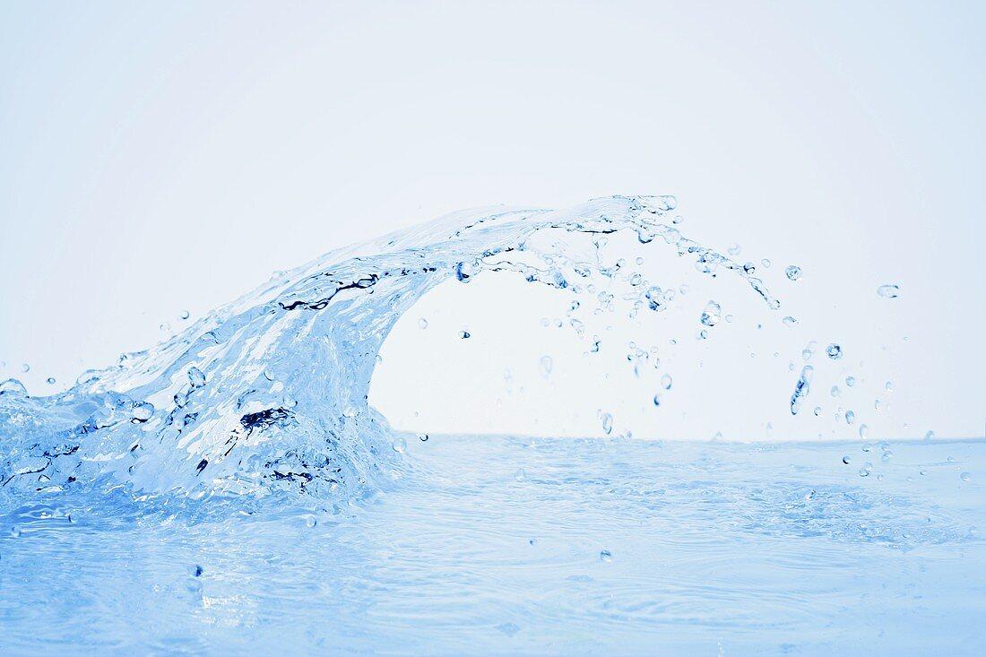 A splash of water