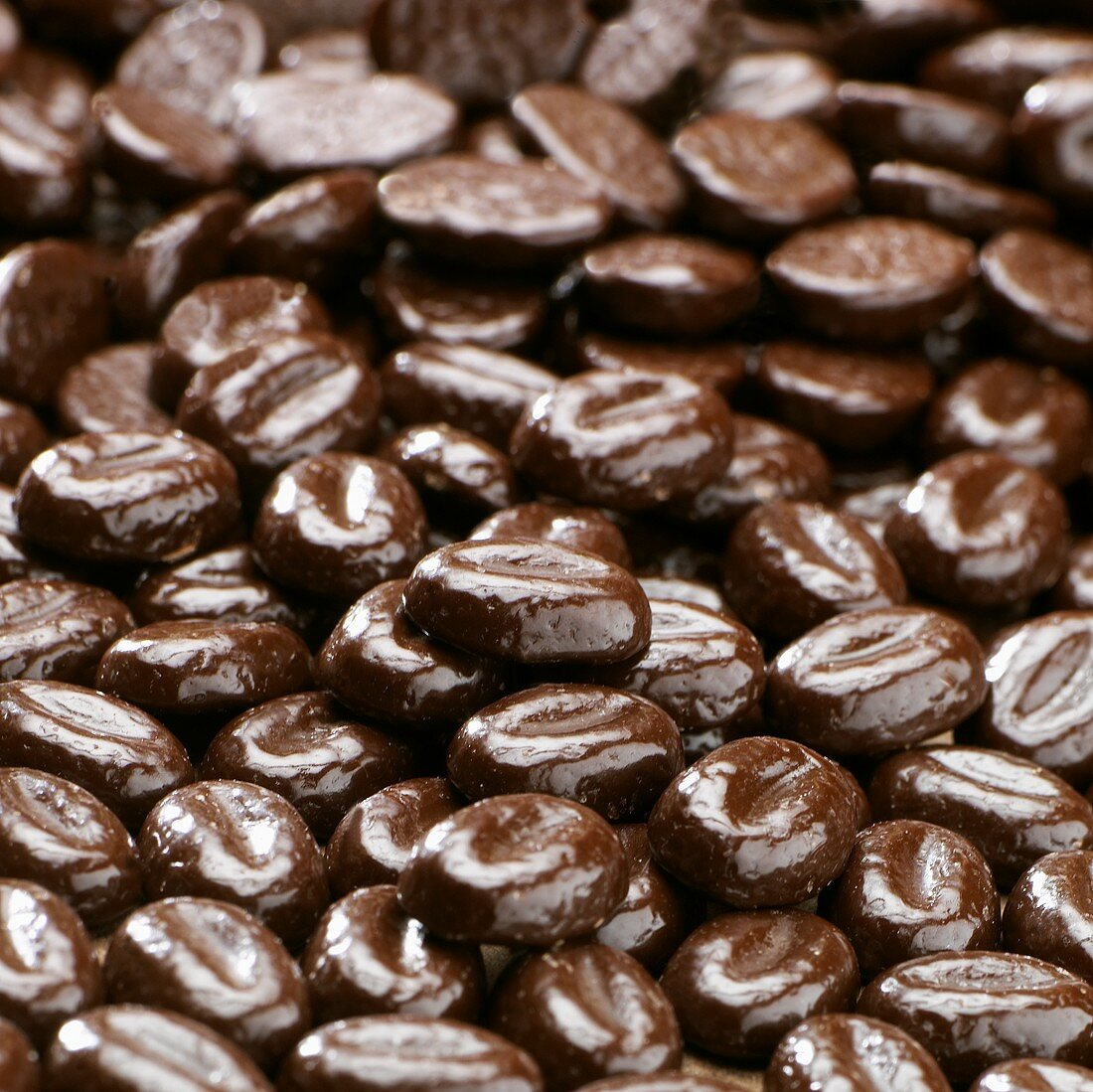 Mocha beans (filling the picture)