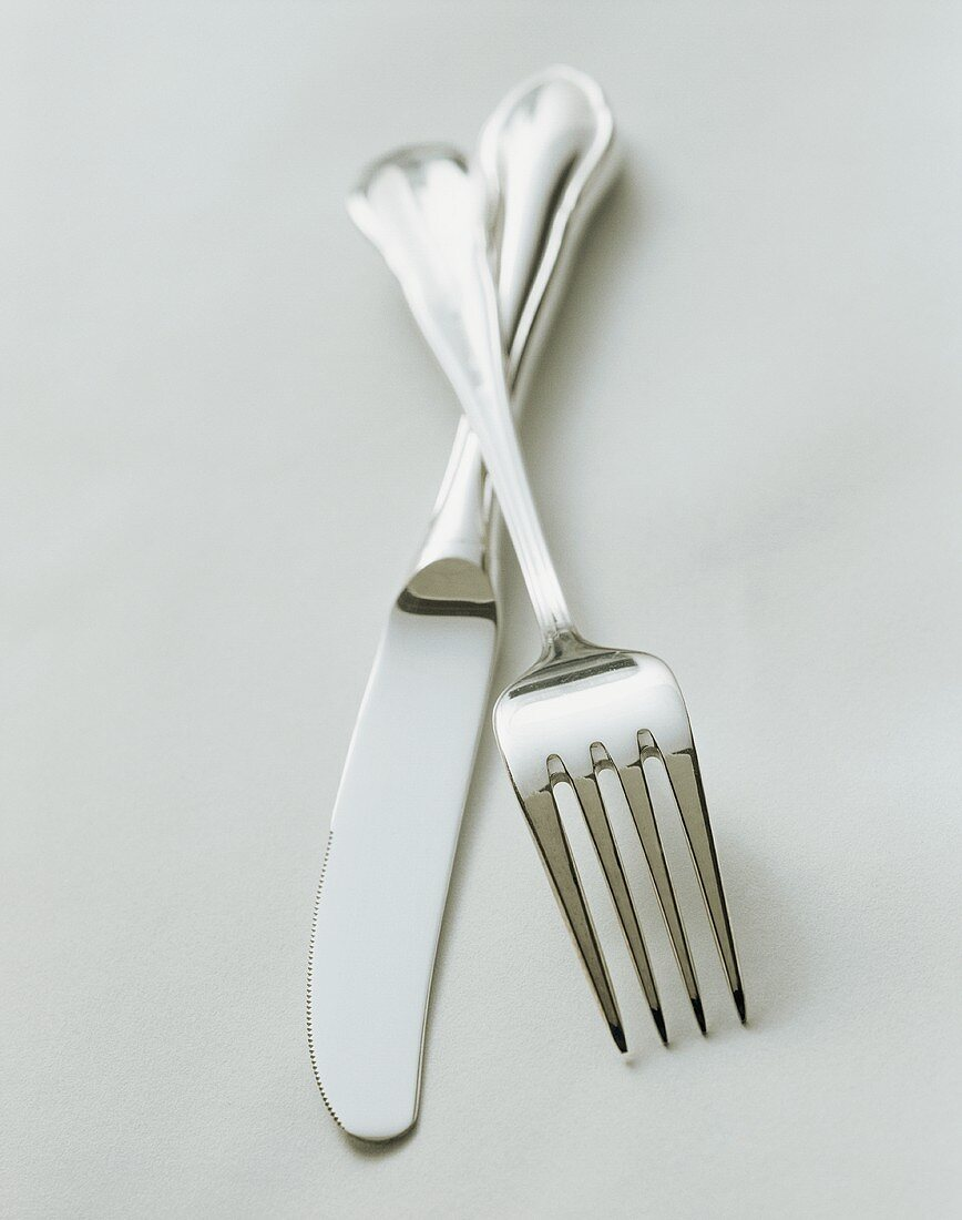 Crossed Fork and Knife