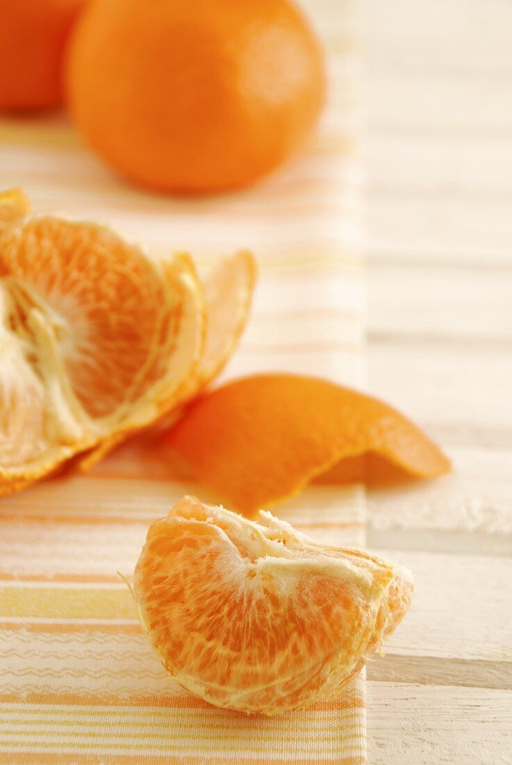 Tangerine wedges