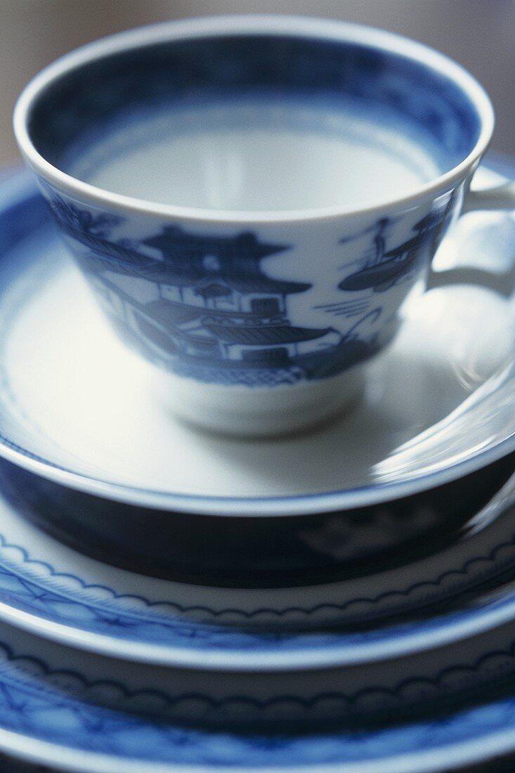 Asian tea things