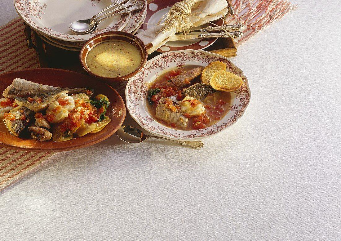 Bouillabaisse; Fish Soup