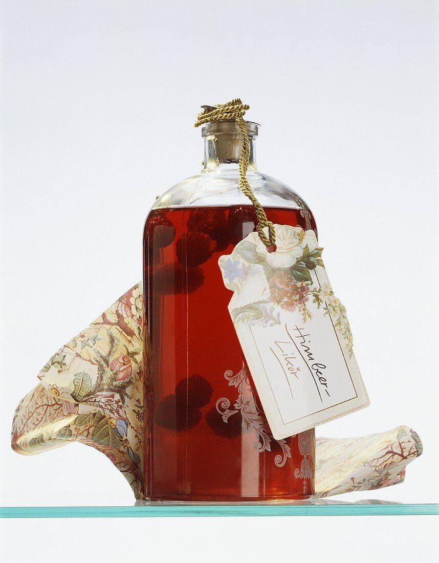 Raspberry-Vanilla Liqueur