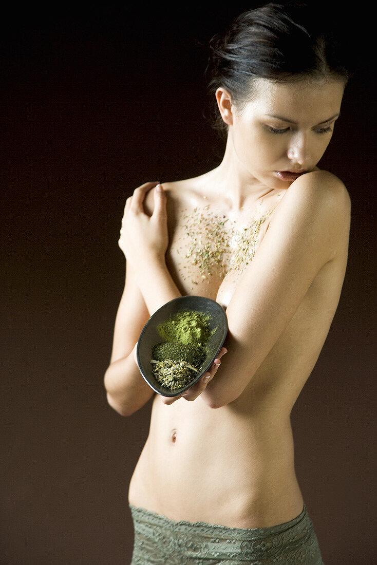 Green tea body treatment