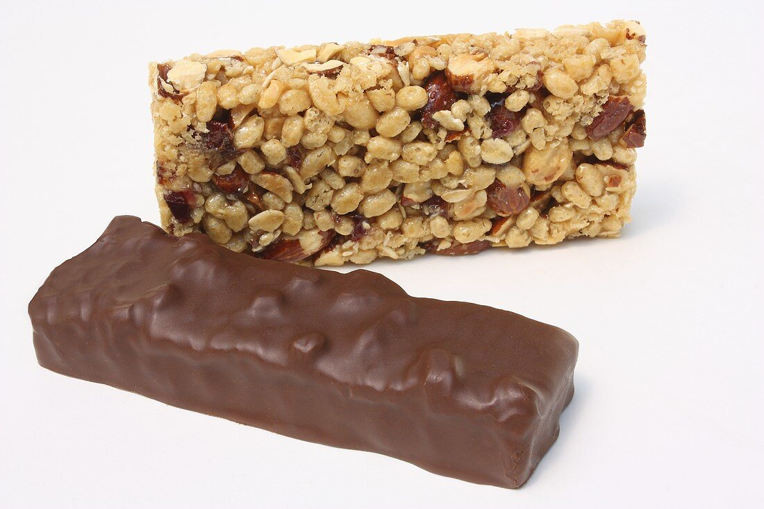 Two Granola Bars; One Chocolate Covered