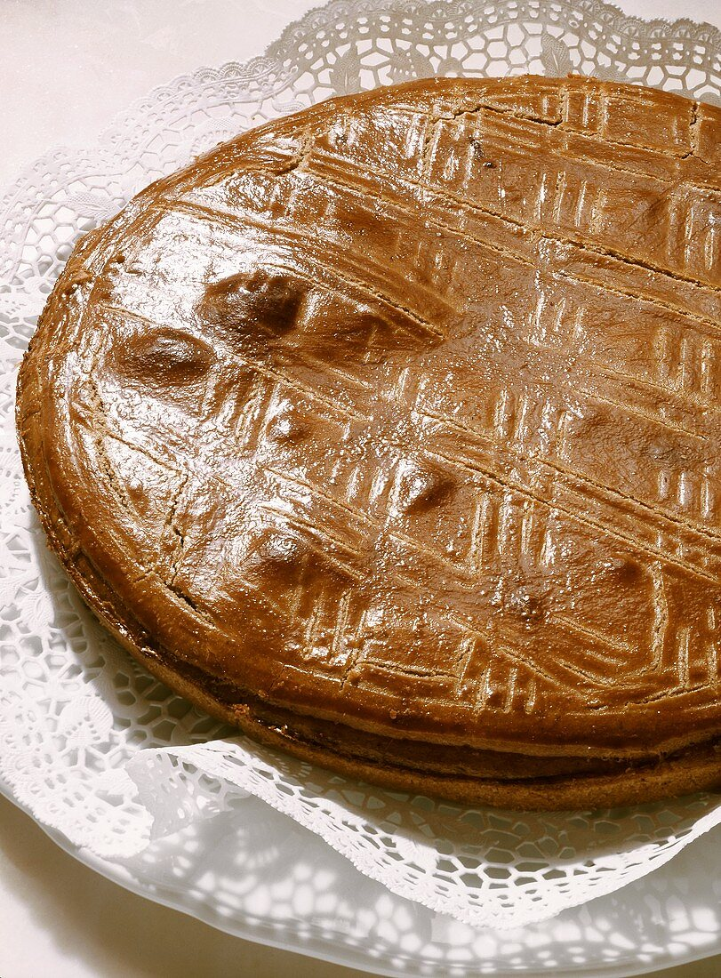Nut pie from the Grisons (Switzerland)