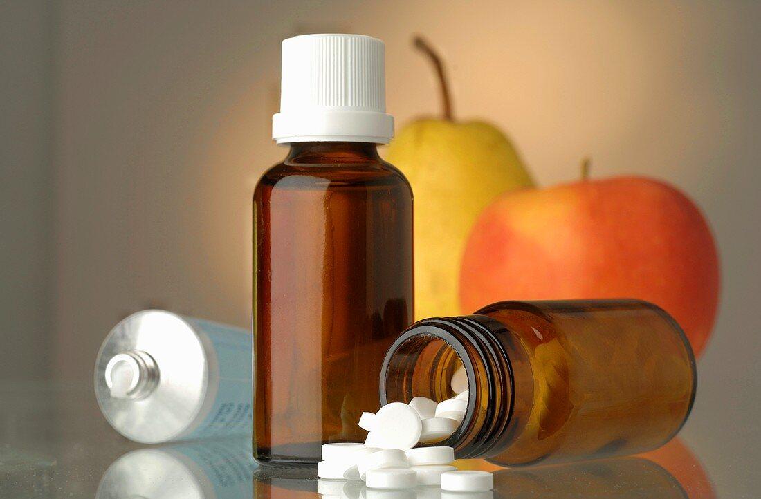 Schüssler Salts, drops and ointment