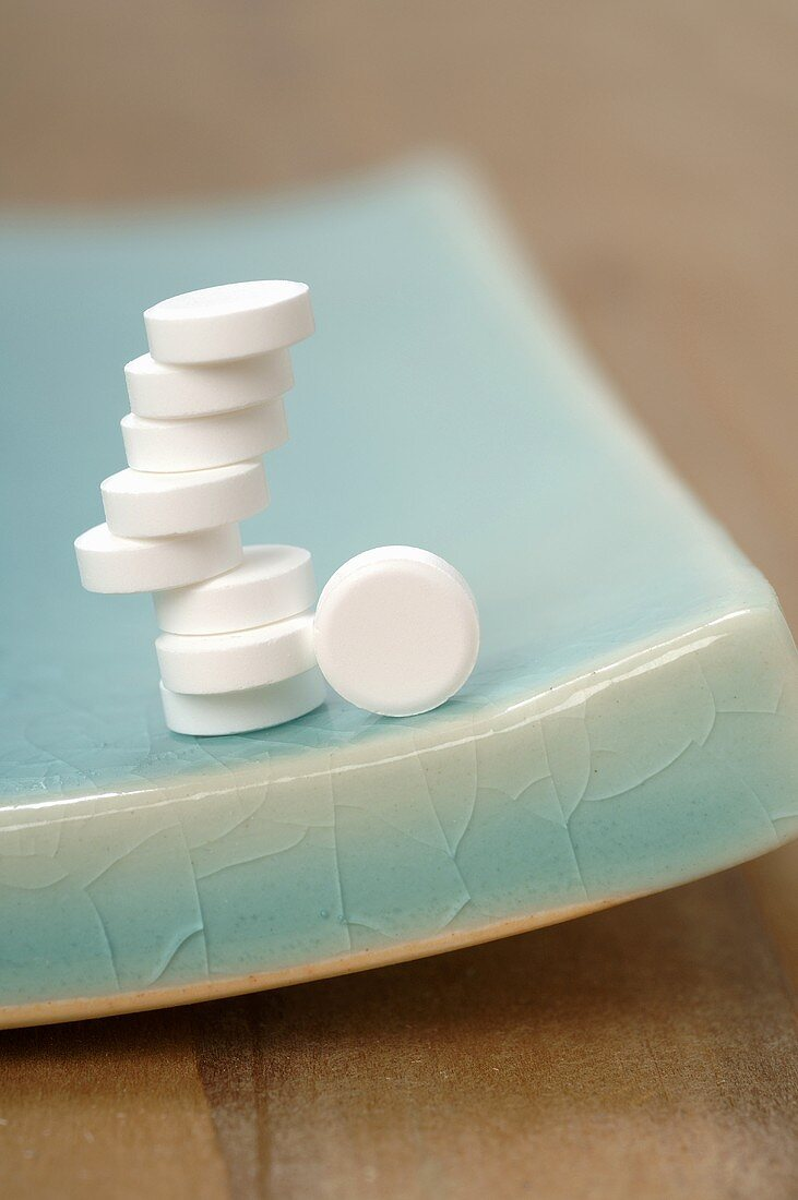 Schüssler Salts: tablets (stacked)