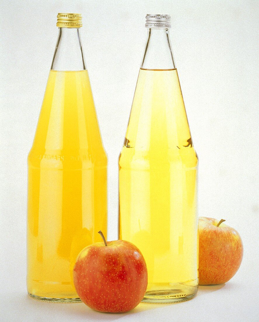 Natural & clear Apple Juice