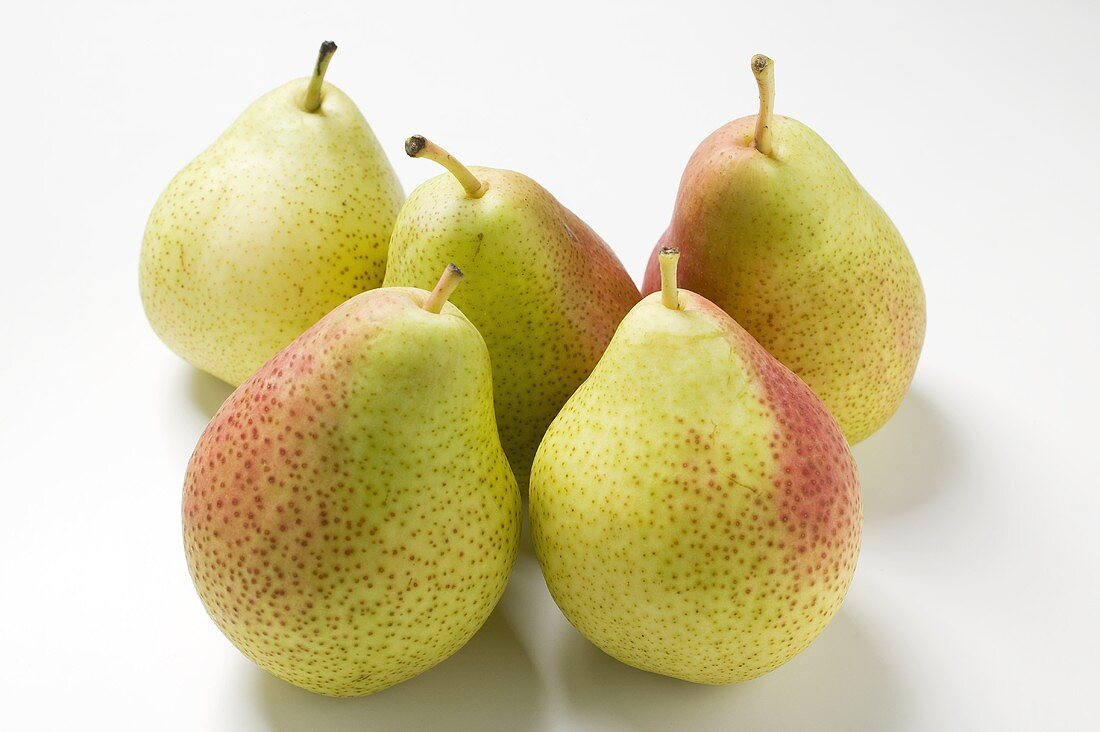 Five Forelle pears