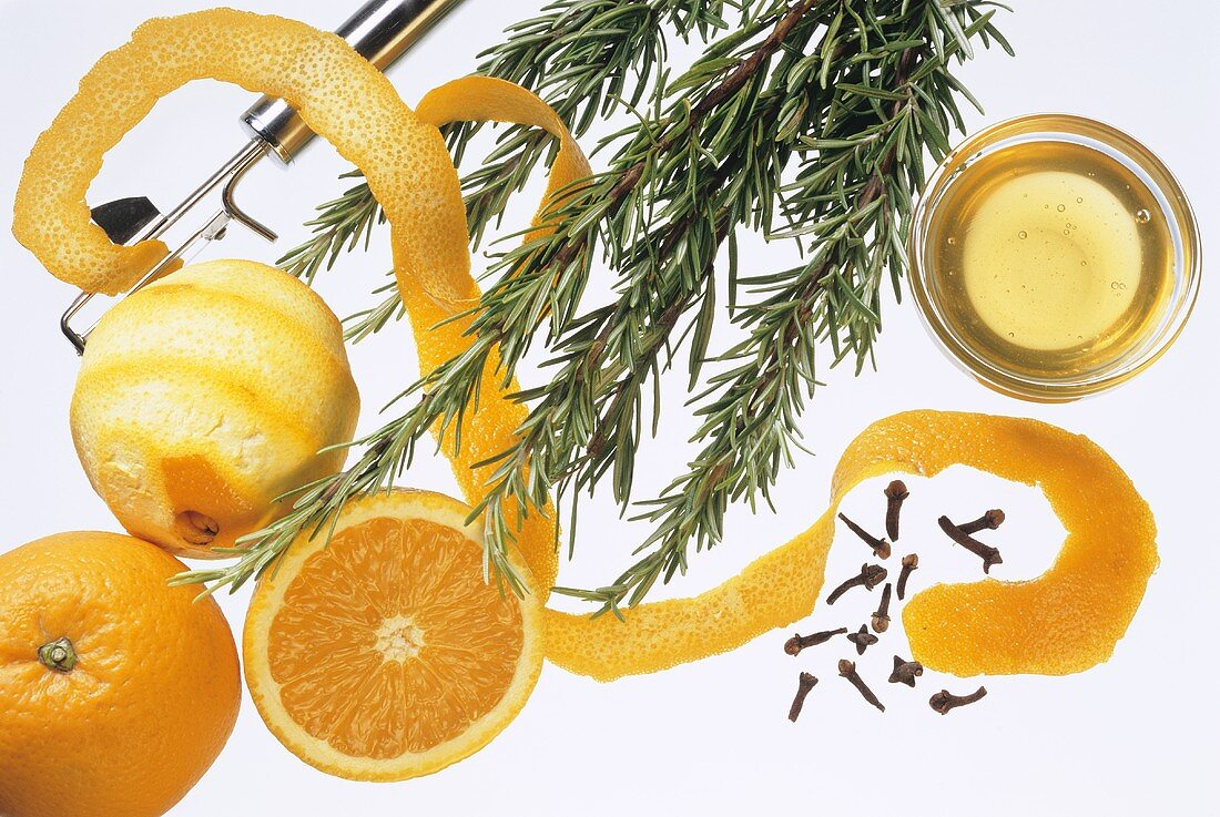 Ingredients for Rosemary Drink