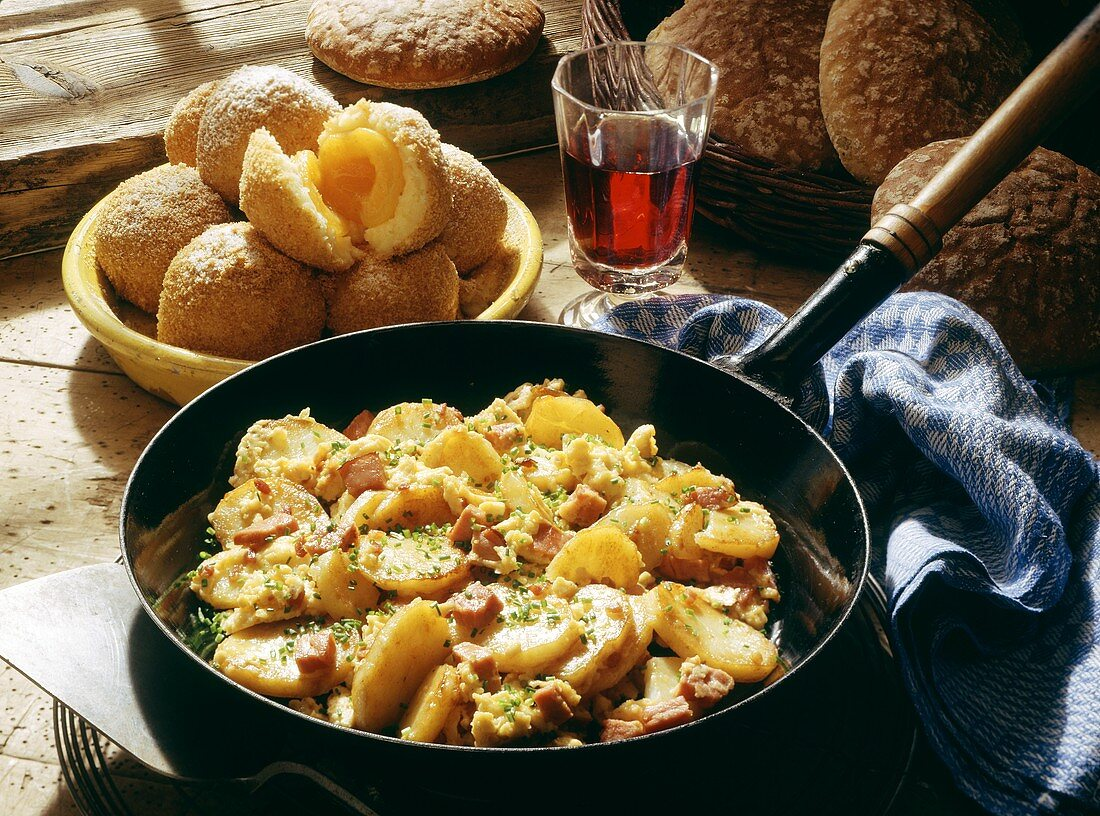 Rustic dishes (S. Tyrol, Italy)