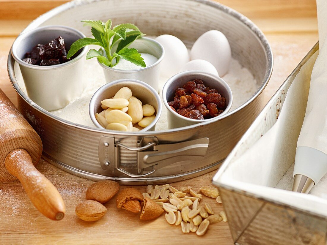 Baking with stevia: ingredients and utensils