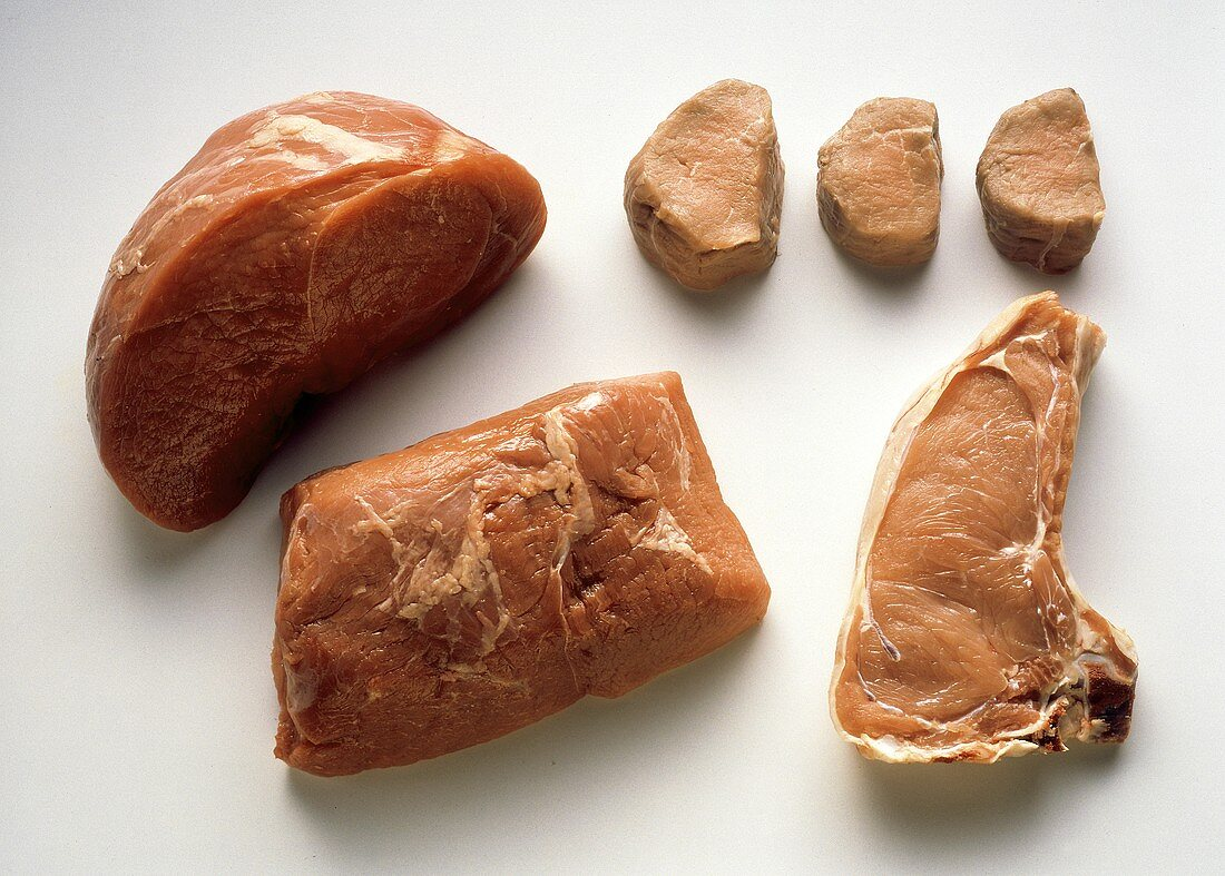 Several Assorted Cuts of Veal