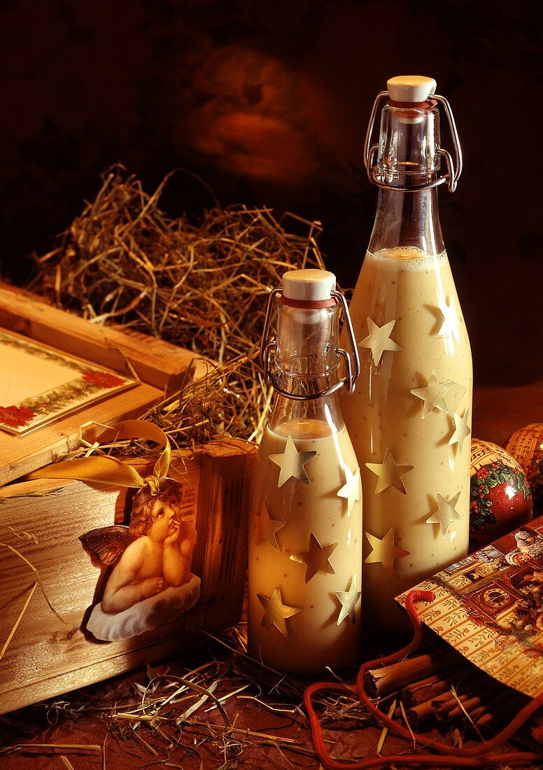 Fig-Cream Liqueur as Present