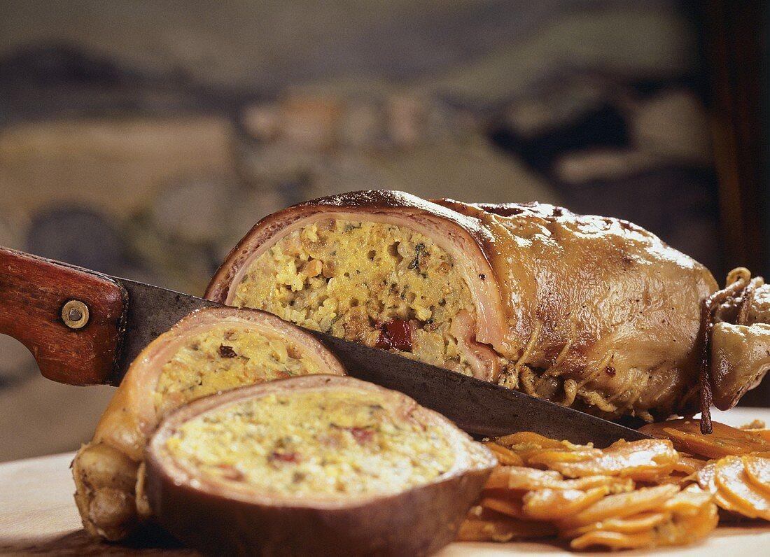 Stuffed pig's stomach (Saumagen)