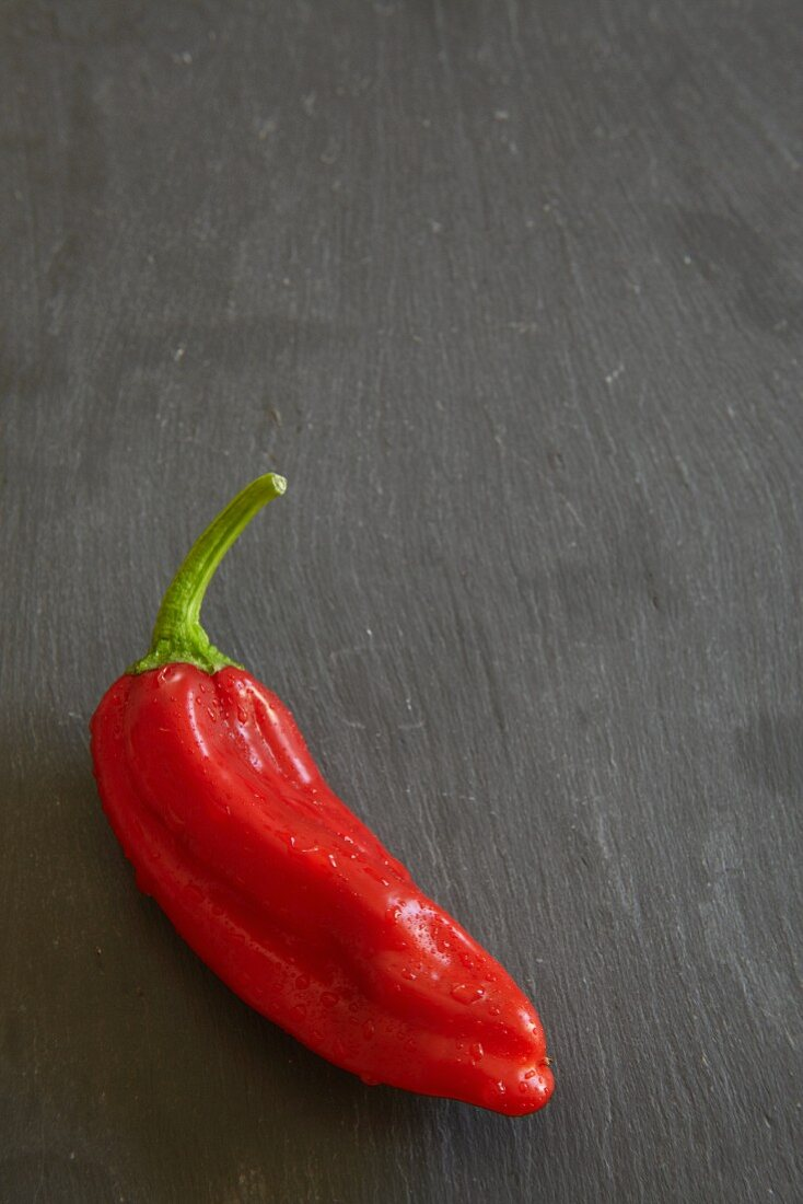 A pointed red pepper