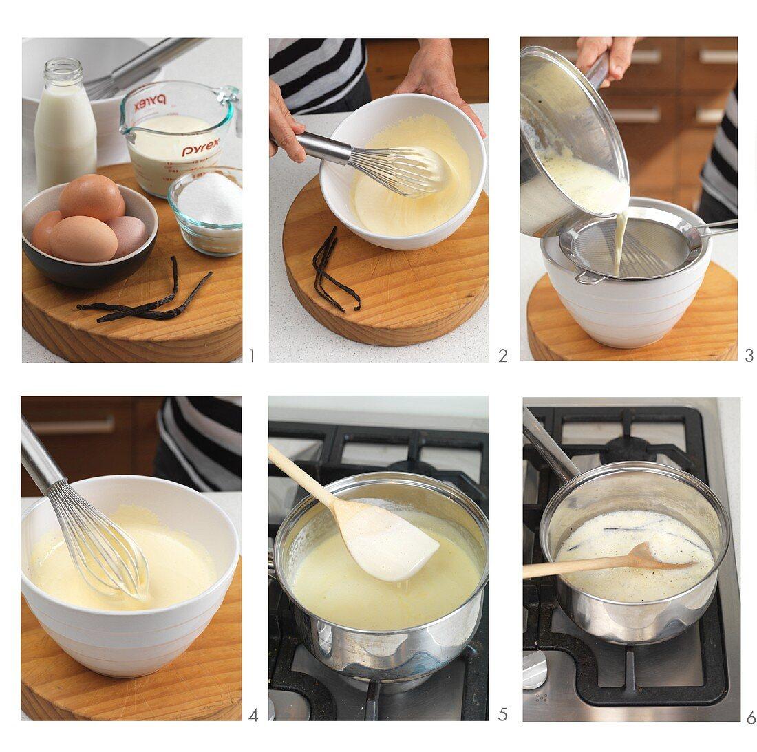 Making custard (US-English voice-over)