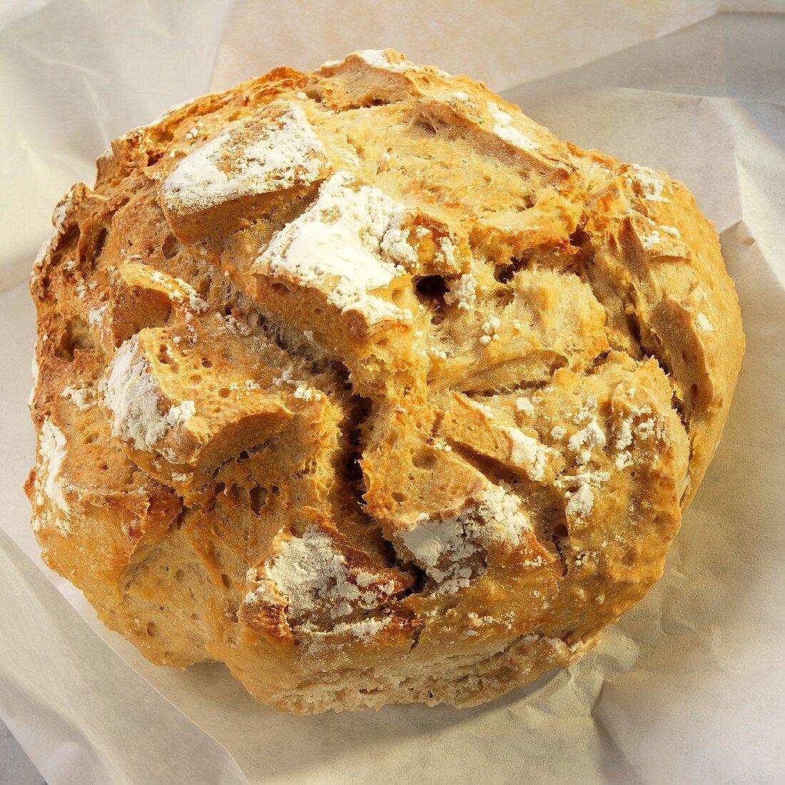Loaf of Rustic Artisan Bread