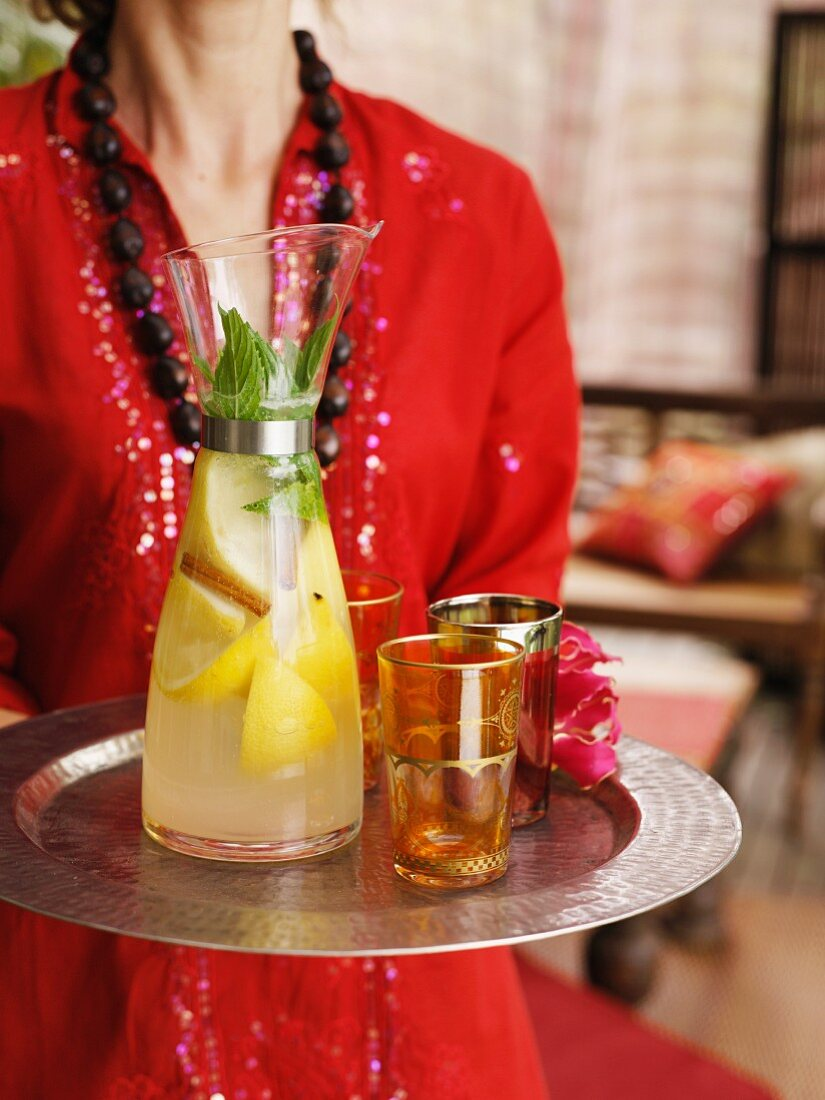 Lemonade with vodka
